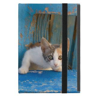Niedliches Kaliko-Katzen-Kätzchen-lustiges iPad Mini Schutzhülle