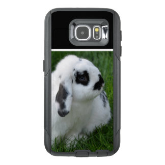 Niedliches Kaninchen auf Gras