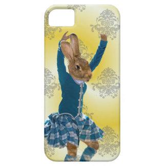 Niedliches Kaninchentanzen iPhone 5 Schutzhüllen