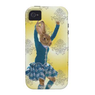 Niedliches Kaninchentanzen iPhone 4 Case