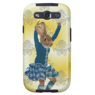 Niedliches Kaninchentanzen Galaxy S3 Hülle