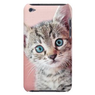 Niedliches Kätzchen mit blauen Augen Barely There iPod Hülle