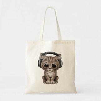 Niedliches Kätzchen-tragende Kopfhörer Tragetasche