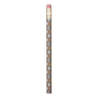 Niedliches Katzen-Muster Bleistift