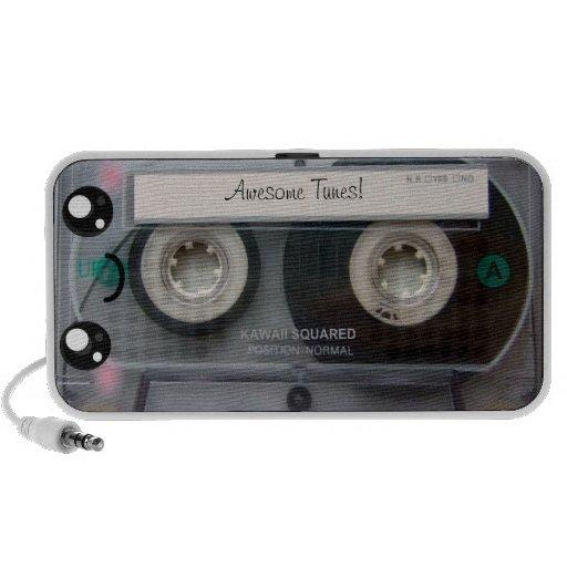 Niedliches Kawaii Kassetten-Band Tragbare Lautsprecher