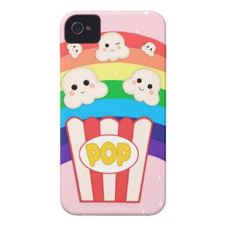 Niedliches Kawaii Popcorn iPhone 4 Hüllen