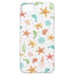 Niedliches kawaii Seeleben Starfish-Tintenfisch-Kr iPhone 5 Hülle