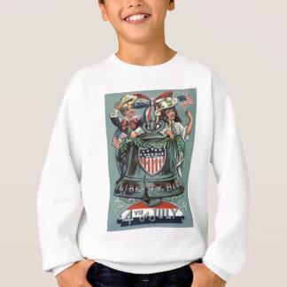 Niedliches Kinderfreiheits-Bellwreath-Band Sweatshirt