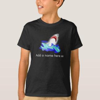 Niedliches Kindert-shirt mit Haifisch T-Shirt