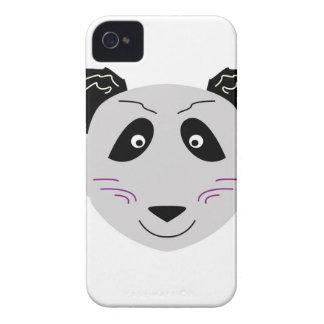 Niedliches kleiner Panda blackgrey Case-Mate iPhone 4 Hüllen