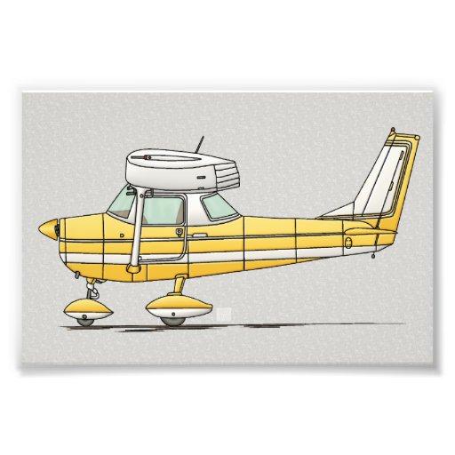 Niedliches kleines Flugzeug Fotografischer Druck