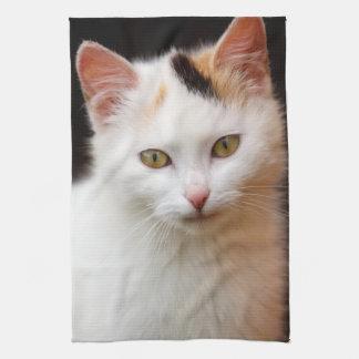 Niedliches kleines Kätzchen Handtücher