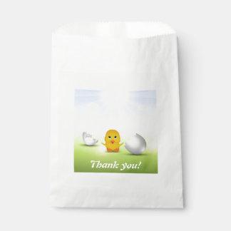 Niedliches kleines Küken - danke, Tasche zu Geschenktütchen