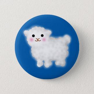 Niedliches kleines Lamm Runder Button 5,7 Cm