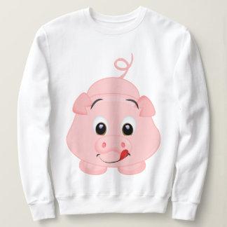 Niedliches kleines rosa Piggy Sweatshirt