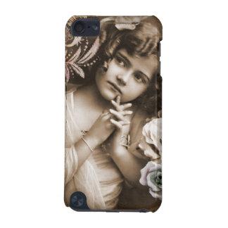 Niedliches kleines Vintages Mädchen iPod Touch 5G Hülle