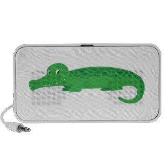 Niedliches Krokodil Laptop Speaker
