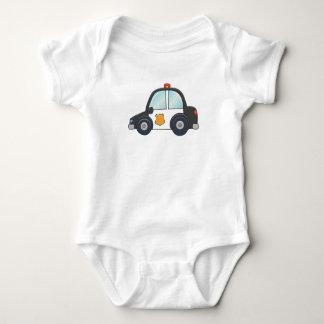 Niedliches kundengerechtes Polizei-Auto Baby Strampler
