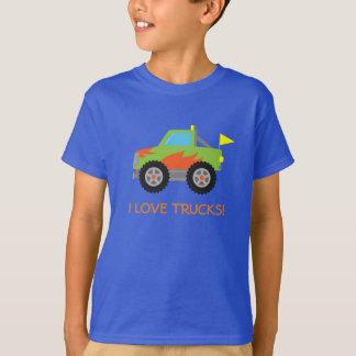 Niedliches laufendes grünes T-Shirt