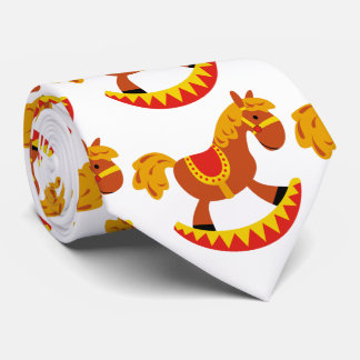 Niedliches, lustiges Schwingpferd Krawatte