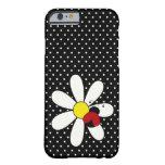 Niedliches Marienkäfer-Gänseblümchen Barely There iPhone 6 Hülle