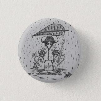 Niedliches Mäusevater-und Kinderfamilien-Abzeichen Runder Button 2,5 Cm