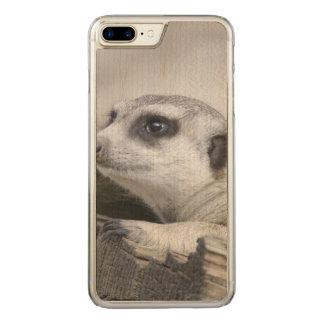 niedliches meerkat 1215A Carved iPhone 8 Plus/7 Plus Hülle