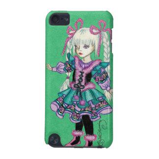 Niedliches Modemädchen mit blonden Borten iPod Touch 5G Hülle
