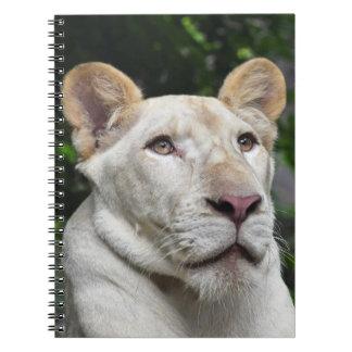 Niedliches Notizbuch mit Löwe Notizblock