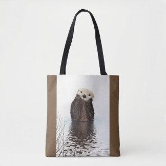 Niedliches Otter-Tier-Bild Tasche