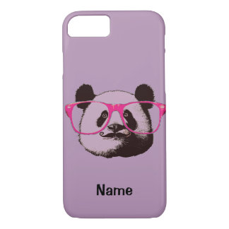 Niedliches Panda-Bärn-lustiges personalisiertes iPhone 8/7 Hülle