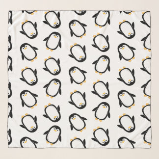 Niedliches Penguins-Muster Schal
