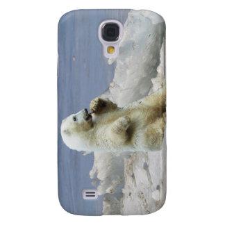 Niedliches polares Bärenjunges u. arktisches Eis Galaxy S4 Hülle