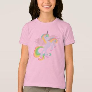 Niedliches Regenbogen UNICORN-Shirt! ROSA T-Shirt