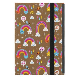 niedliches Regenbogenmuster Etui Fürs iPad Mini