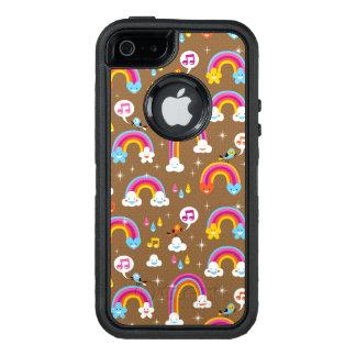 niedliches Regenbogenmuster OtterBox iPhone 5/5s/SE Hülle