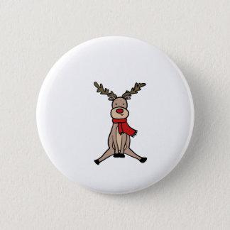 NIEDLICHES REN, Rudolph Runder Button 5,1 Cm