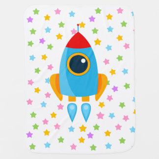 Niedliches Rocket Babydecke