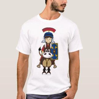 Niedliches römisches Soldat-u. Pferdet-stück T-Shirt
