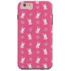 Niedliches rosa Babyhäschen-Ostern-Muster Tough iPhone 6 Plus Hülle