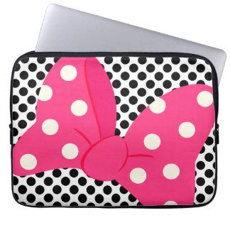Niedliches rosa Girly Laptopschutzhülle