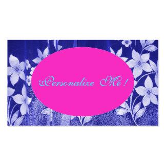 Niedliches Rosa-Save the Date Girly Mit Visitenkarten