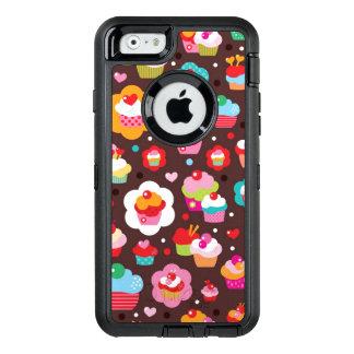 Niedliches Schalen-Kuchen-Muster OtterBox iPhone 6/6s Hülle