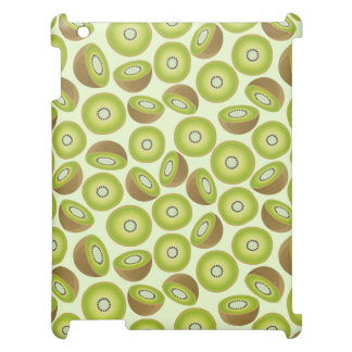 Niedliches Schnitt-Kiwi-Muster iPad Hülle