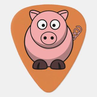 Niedliches Schwein Plektron