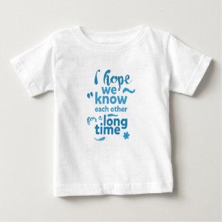 niedliches Shirt für Kinder - Hoffnung kennen uns