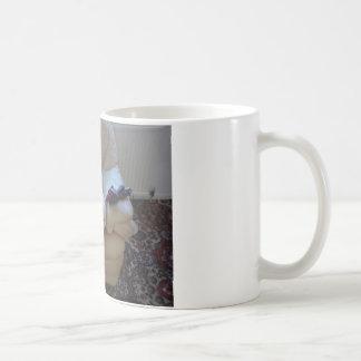 Niedliches staffie kaffeetasse