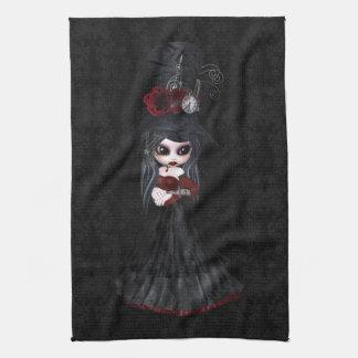 Niedliches Steampunk Goth Handtuch