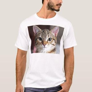 Niedliches Tabby-Katzen-Kätzchen T-Shirt