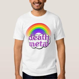 Niedliches Todesmetallregenbogen-Shirt Shirt